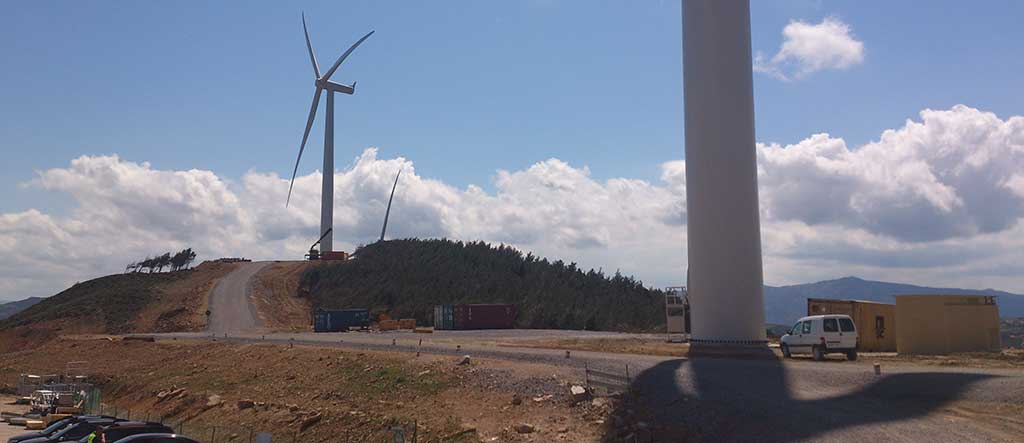 Control System of 50 MW wind farm in Tangier