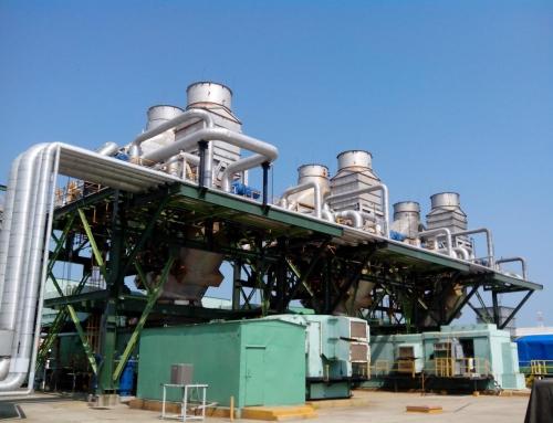 Inyección secundario en GCPP del generador 2 de la planta eléctrica de la Terminal de Dos Bocas