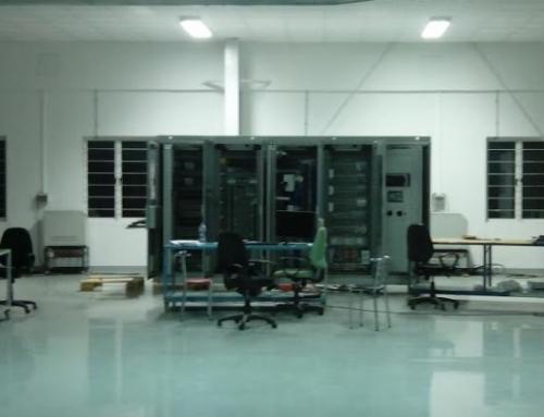 Pruebas de secundario en tres GCPP (paneles de control y protección del generador), manufacturados por Preipolar en Chennai.