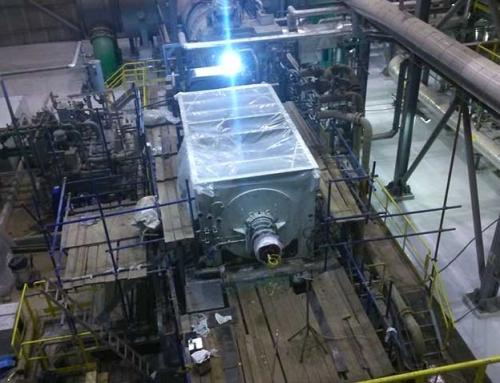Puesta en marcha en frío de un generador de 30 MW en Turquía